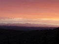 Mountains with Snow at Sunset - web format
