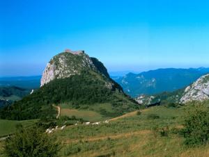 Ruins of Chateau de Montségur